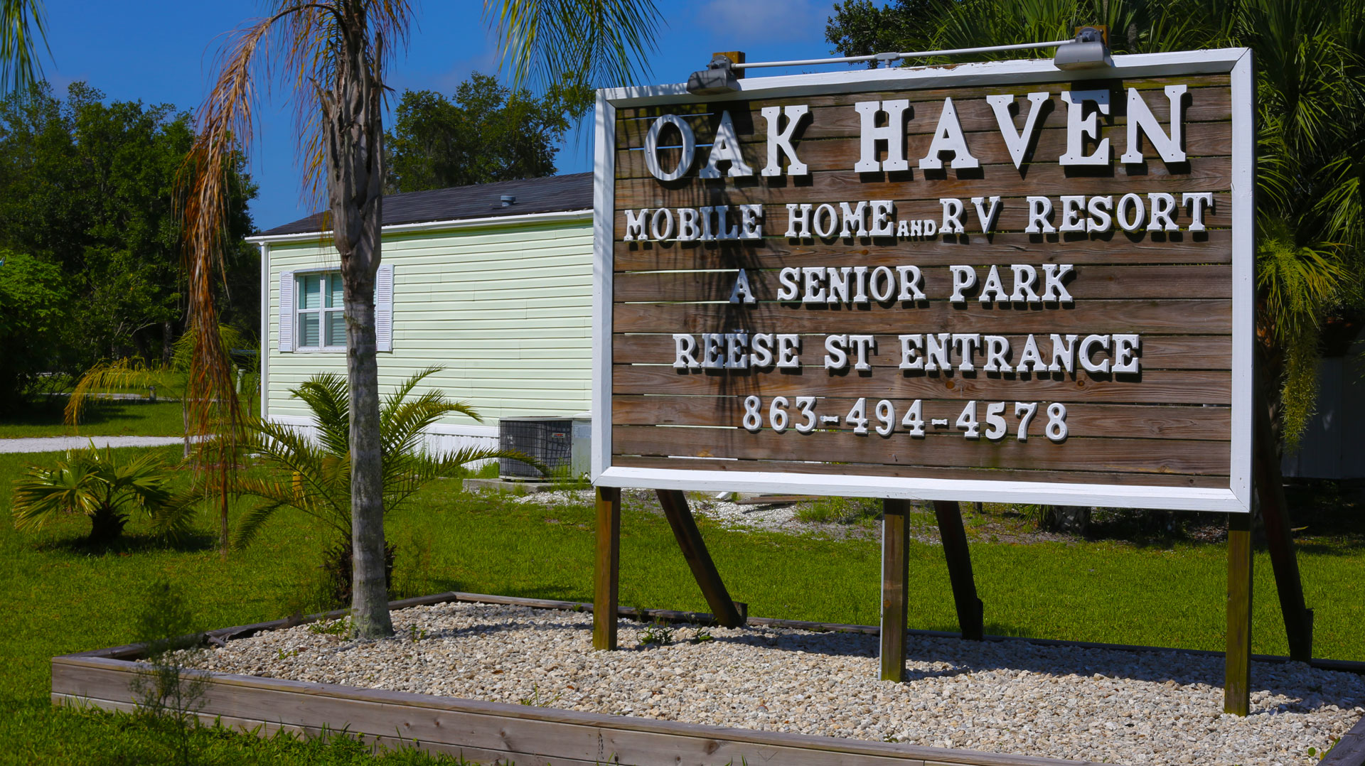 Welcome To Oak Haven Park